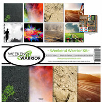 Reminisce - Weekend Warrior Collection - 12 x 12 Collection Kit