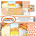 Reminisce - Watercolor Fall Collection - 12 x 12 Collection Kit