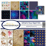 Reminisce - Whats Your Sign Collection - 12 x 12 Collection Kit