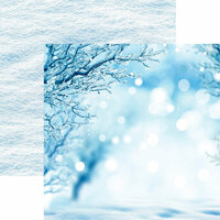Reminisce - Winter is Coming Collection - 12 x 12 Double Sided Paper - A Winter's Tale