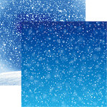Reminisce - Winter is Coming Collection - 12 x 12 Double Sided Paper - More Snow
