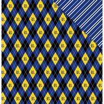 Reminisce - Wizard 101 Collection - 12 x 12 Double Sided Paper - Plaid 2