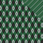 Reminisce - Wizard 101 Collection - 12 x 12 Double Sided Paper - Plaid 3