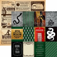 Reminisce - Wizard 102 Collection - 12 x 12 Double Sided Paper - Mayhem
