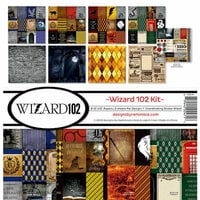 Reminisce - Wizard 102 Collection - 12 x 12 Collection Kit