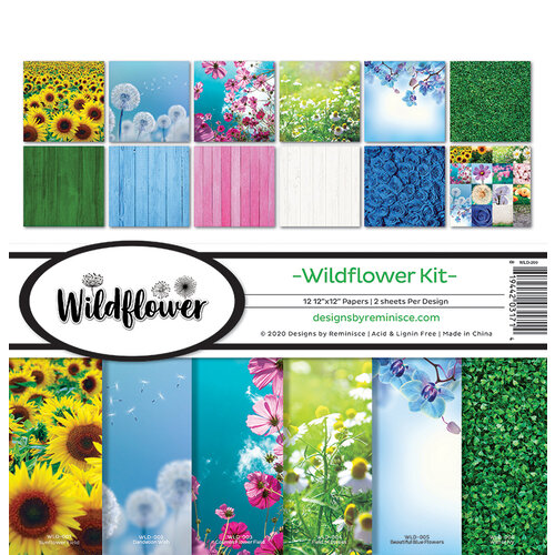Reminisce - Wildflower Collection - Collection Kit