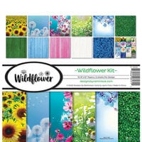 Reminisce - Wildflower Collection - 12 x 12 Collection Kit