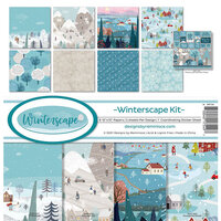 Reminisce -Winterscape Collection - 12 x 12 Collection Kit