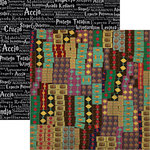 Reminisce - Worlds of Adventure Collection - 12 x 12 Double Sided Paper - Wand Shoppe