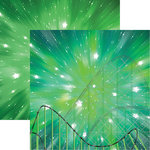Reminisce - Worlds of Adventure Collection - 12 x 12 Double Sided Paper - The Incredible Coaster