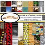 Reminisce - Worlds of Adventure Collection - Page Kit