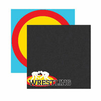 Reminisce - Wrestling Collection - 12 x 12 Double Sided Paper - Wrestling