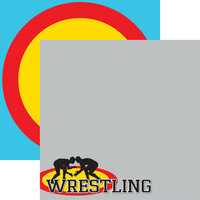 Reminisce - Wrestling Collection - 12 x 12 Double Sided Paper - 2