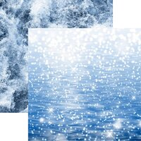 Reminisce - Watersports Collection - 12 x 12 Double Sided Paper - Sparkling Sea