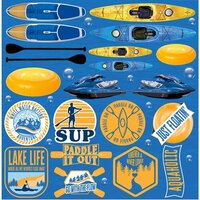 Reminisce - Watersports Collection - 12 x 12 Elements Sticker