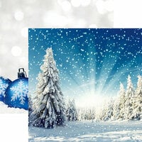 Reminisce - Winter Wonderland Collection - 12 x 12 Double Sided Paper - Winter Wonderland