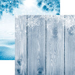 Reminisce - Winter Wonderland Collection - 12 x 12 Double Sided Paper - Winter Stars