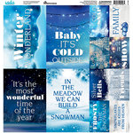 Reminisce - Winter Wonderland Collection - 12 x 12 Cardstock Stickers - Poster