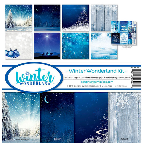 Reminisce - Winter Wonderland Collection - 12 x 12 Collection Kit