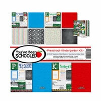 Reminisce - You've Been Schooled Collection - 12 x 12 Collection Kit - Preschool and Kindergarten