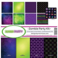 Ella and Viv Paper Company - Zombie Party Collection - 12 x 12 Collection Kit
