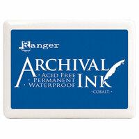 Ranger Ink - Archival Ink Pad - Jumbo - Cobalt