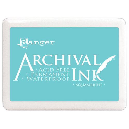 Ranger Ink - Archival Ink Pad - Jumbo - Aquamarine