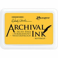 Ranger Ink - Wendy Vecchi - Archival Ink Pads - Buttercup