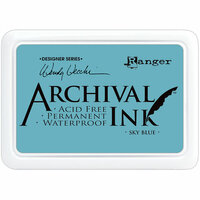 Ranger Ink - Wendy Vecchi - Archival Ink Pads - Sky Blue