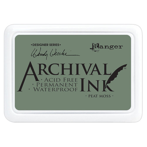Ranger Ink - Wendy Vecchi - Archival Ink Pads - Peat Moss