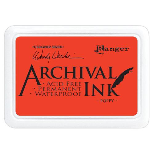 Ranger Ink - Wendy Vecchi - Archival Ink Pads - Poppy