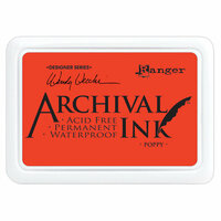Ranger Ink - Wendy Vecchi - Archival Ink Pads - Poppy