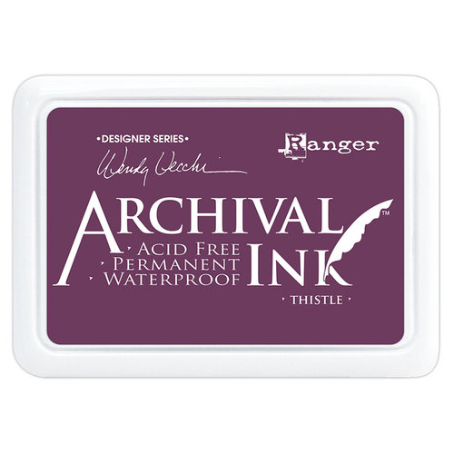Ranger Ink - Wendy Vecchi - Archival Ink Pads - Thistle
