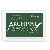 Ranger Ink - Wendy Vecchi - Make Art - Archival Ink Pads - English Ivy