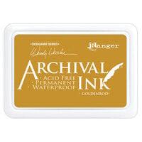 Ranger Ink - Wendy Vecchi - Make Art - Archival Ink Pads - Goldenrod