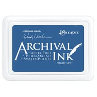 Ranger Ink - Wendy Vecchi - Make Art - Archival Ink Pads - Night Sky