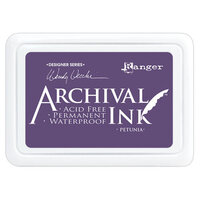 Ranger Ink - Wendy Vecchi - Make Art - Archival Ink Pads - Petunia