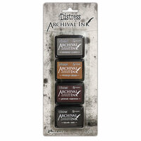 Ranger Ink - Tim Holtz - Distress Archival Ink Pads - Mini Kit - Three