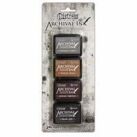 Ranger Ink - Tim Holtz - Distress Archival Ink Pads - Mini Kit - Three