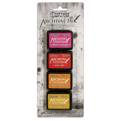 Ranger Ink - Tim Holtz - Distress Archival Ink Pads - Mini Kit - One