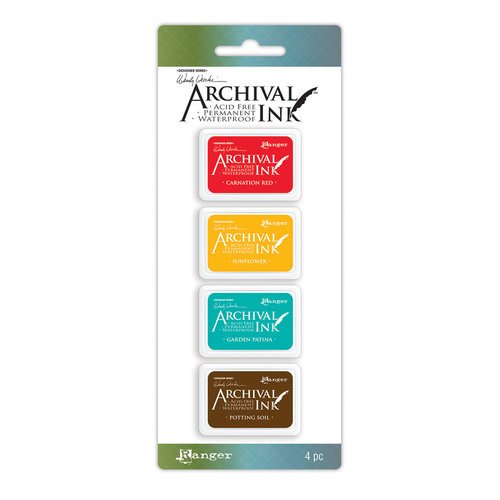 Ranger Ink - Wendy Vecchi - Mini Archival Ink Pads - Kit 1