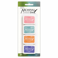 Ranger Ink - Wendy Vecchi - Mini Archival Ink Pads - Kit 3