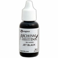 Ranger Ink - Wendy Vecchi - Archival Ink Reinker - Jet Black