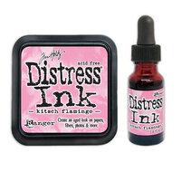 Ranger Ink - Tim Holtz - Distress Ink Pad and Reinker - Kitsch Flamingo