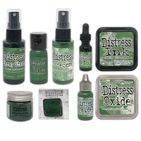 Ranger Ink - Tim Holtz - Distress Ink Kit - Rustic Wilderness Bundle with Enamel Pin