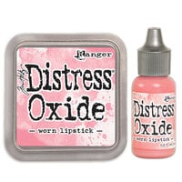 Ranger Ink - Tim Holtz - Distress Oxides Ink Pad and Reinker - Worn Lipstick