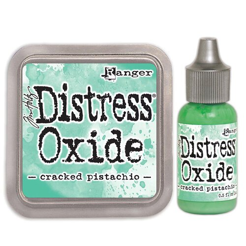 Ranger Ink - Tim Holtz - Distress Oxides Ink Pad and Reinker - Cracked Pistachio