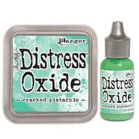 Ranger Ink - Tim Holtz - Distress Oxides Ink Pad and Reinker - Cracked Pistachio