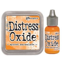 Ranger Ink - Tim Holtz - Distress Oxides Ink Pad and Reinker - Spiced Marmalade