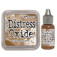 Ranger Ink - Tim Holtz - Distress Oxides Ink Pad and Reinker - Vintage Photo